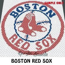 red sox blanket red blanket baseball team crochet pattern knitting crib bedding red blanket red sox red sox