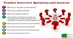 interview for hr position questions and answers 8 teacher interview questions and answers