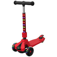 Jetson Saturn 3 Wheel Light Up Scooter Jetson Saturn Folding 3 Wheel Kick Scooter With Light Up Stem Deck Lean To Steer Design With Sturdy Wide Deck Adjustable Height For Kids 5 Up