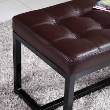 Leather Bedroom Bench Noya Usa Metal Bedroom Bench Reviews Wayfair