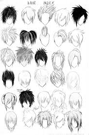 Hair Style Anime 473 best draw hair for your characters images art 1371 by wearticles.com