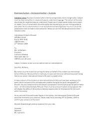 Letter Business Invitation Sample Letters Writing Professional