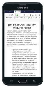Liability Release Form - Free Template - Swiftcloud Electronic Signature