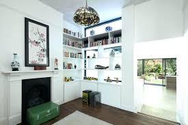 shelving furniture living room. Room Divider Shelves Corner Living Furniture Eclectic With Painting Shelving
