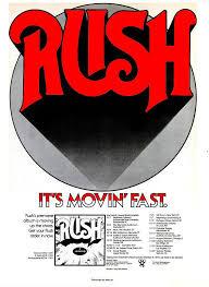 Album Charts 1974 Rush First Album Advertising 1974 In 2019 Rush Music