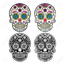 Day Of The Dead Patterns And