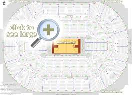 Honda Center Concert Seating Chart With Seat Numbers Honda Center Seat Row Numbers Detailed Seating Chart
