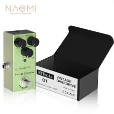 <b>NAOMI NEP 01</b> Portable Electric Acoustic <b>Guitar Effect Pedal</b> True ...