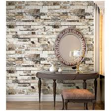 Image Bowl Sink Haokhome 91301 Faux 3d Brick Wallpaper Textured Brick Wallpaper Roll Beigegreybrown 208 Pinterest Brick Wall Panel Amazoncom