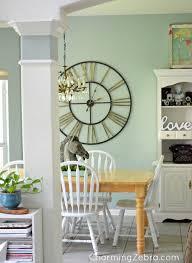 Kitchen large clock. CharmingZebra.com