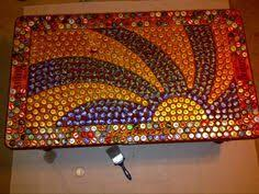 Bottle Cap Decorations Hey Reddit Check Out This Beatles Bottle Cap Table I've Been 18
