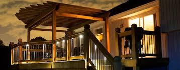 led stair lighting kit. Led-down-lights-under-rails Led Stair Lighting Kit G