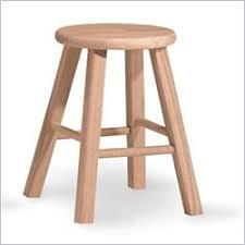 unfinished bar stools. International Concepts 18 Unfinished Bar Stools U