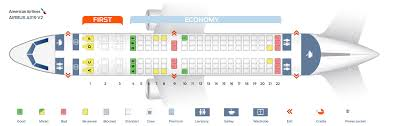 A319 Seating Chart