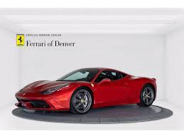 The only thing to consider is what you. Approved Pre Owned2014 Ferrari 458 Speciale For Sale In Highlands Ranch