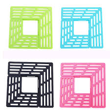 aliexpress com the sink drain protection board creative kitchen sink debris filter mat more environmentally friendly draining board 8802 from reliable