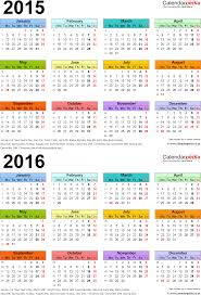 two year calender two year calendars for 2015 2016 uk for word