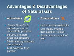 Advantages And Disadvantages Of Natural Gas Ppt Eco Commerce Models Alternative Fuel And Vehicles Powerpoint