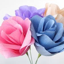 Paper Flower Video Video Crepe Paper Flowers Diy Tutorial