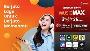Padahal ini penting untuk menambah pengetahuan. Telkomsel على تويتر Putar Jutaan Lagu Di Platform Streaming Musik Sepuasnya Dengan Paket Musicmax Dengan Rp25 000 Kamu Bisa Dapat 2gb Kuota Untuk Akses Langit Musik Spotify Joox Hingga Smule Beli Paketnya Sekarang