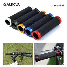 <b>1 Pair Bicycle Grips</b> With Lock Rubber and Aluminium Alloy Non ...