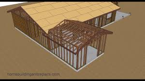 gable roof trusses with fill home addition roof framing