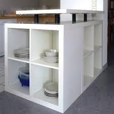 Ikea Decora Avec L Shaped Expedit Kitchen Island Et Ikea Hack Ilot