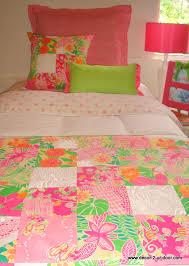 lilly pulitzer custom teen dorm bedding for girls