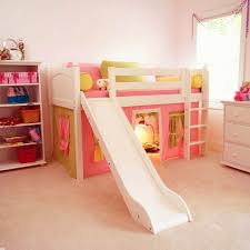 bunk bed with slide for girls. Bedroom Bunk Bed Slide The Best Smart Toddler Loft With Pict Of Trend For Girls
