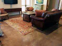 polished concrete flooring is becoming more popular for residential combining design and function in a livable space