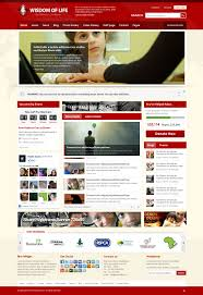 download template for website in php wisdom of life html template php contact form