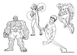 Superhero Printables Coloring Pages Andyvanwyecom