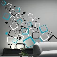Small Picture Multiplex Square Wall Decals Trendy Wall Designs