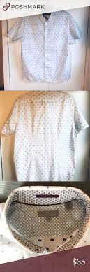 Ted Baker London Men S Size Chart Ted Baker London Short Sleeve Shirt Size 6 Xl Casual