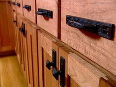 mission style drawer pulls. Chunky Black Handles And Pulls Add To The Rustic Look Of These Handhewn Cabinets Find This Pin More On Mission Style Cabinet Intended Drawer