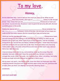 romantic letters for him romantic letter template