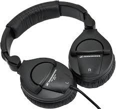 review sennheiser hd 280 pro headphones folded flat
