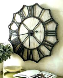 big wall clocks clock decorative for kitchen extra large hobby lobby deco wall clock