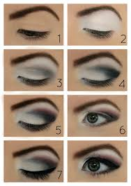 you smokey makeup for blue eyes how to apply eye makeup step by step