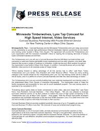 11 3 Comcast Partnership Timberwolves Media Center