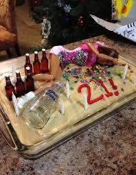 21st Birthday Cake Idea On We Heart It