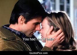 You Had Me At Hello Quote Unique You Had Me At 'hello' Jerry Maguire Quotes Pics