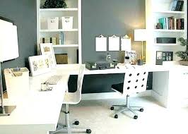 ideas for a small office. Office Desk Setup Ideas Small Modern Layout Space Home Furniture For A