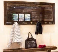 Wall Mounted Coat Rack With Hooks Wall Mounted Coat Rack With Mirror Foter 65