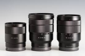 sony 24 70 f4. the sony fe 16-35mm f4 (center) flanked by 55mm 24 70