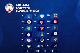 2019-2020 Sezonu fikstür çekimi yapıldı - Kasımpaşa Sportif Faaliyetl
