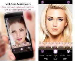 reveals instant makeup camera for real time makeovers in the youcam makeup app