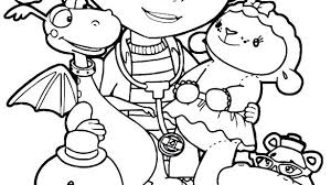 Mcstuffins Coloring Pages New Doc Of Free Online Lambie
