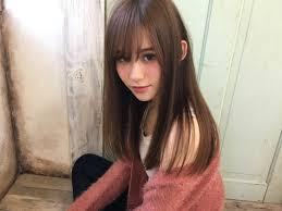 30代女子がオシャレに見えるロングの髪型ヘアスタイルにあう前髪