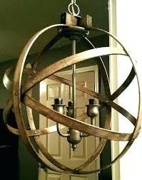 extra large orb chandelier rustic chandeliers impressing top round lighting all s regarding wooden